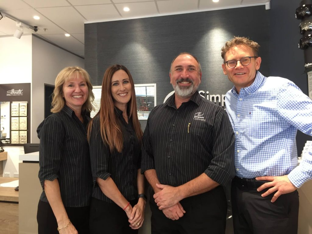 Simpson Optometry Team
